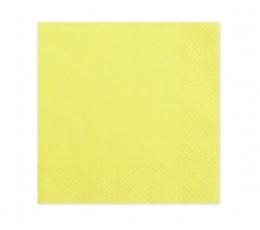 Salvrätikud kollased  (20 tk)
