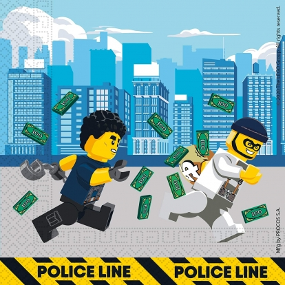 "Salvrätikud ""Lego City"" (20 tk.)"
