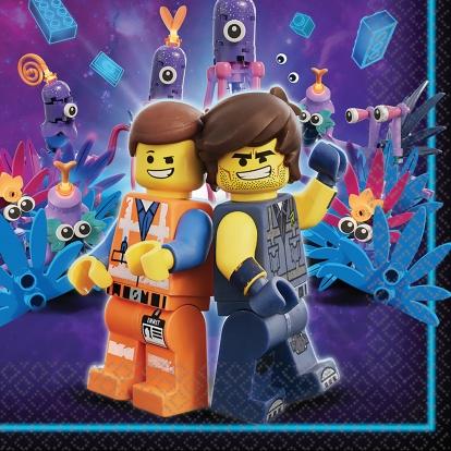 """Salvrätikud """"Lego Movie 2"""" (16 tk.)"""
