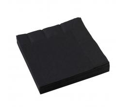 Salvrätikud, mustad (20 tk)