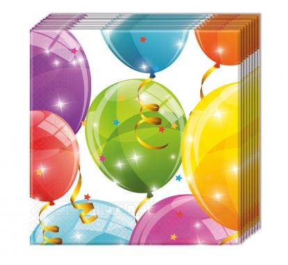 """Salvrätikud """"Õhupallid"""" (20 tk)"""