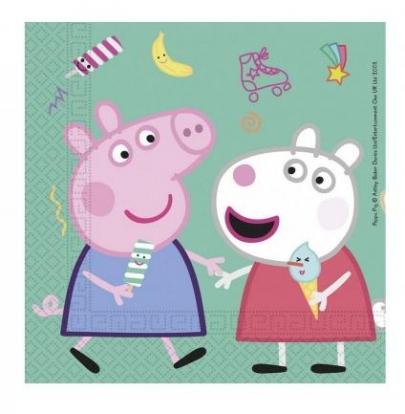 """Salvrätikud """"Peppa Pig"""" (20 tk)"""