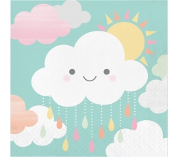 """Salvrätikud """"Pilveke"""" (16 tk)"""