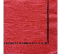 Salvrätikud, punased läikivad  (16 tk)