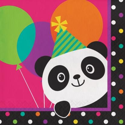 "Salvrätikud ""Rõõmus Panda"" (16 tk)"