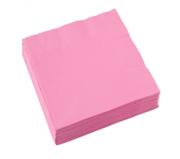 Salvrätikud, roosa (20 tk)