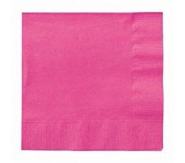 Salvrätikud, roosa (20 tk/33x33 cm)