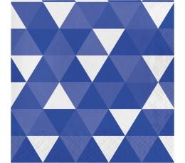 """Salvrätikud """"Sinised kujundid"""" (16 tk)"""