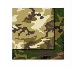 """Salvrätikud """"Sõdurid"""" (16 tk/33x33 cm)"""