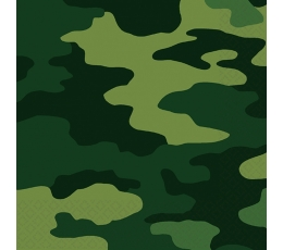 "Salvrätikud ""Sõjaline kamuflaaž"" (16 tk)"