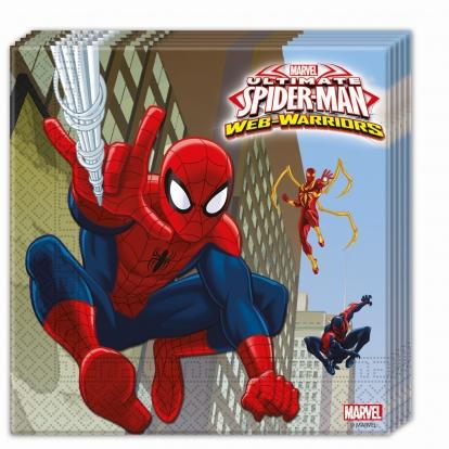 "Salvrätikud ""Spider-Man"" (20 tk)"