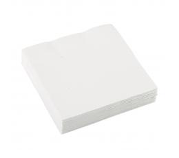 Salvrätikud, valged (20 tk)