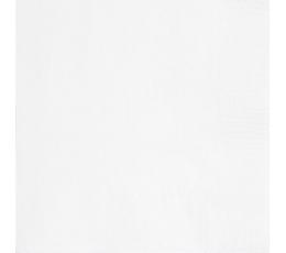 Salvrätikud, valged (20 tk / 33x33 cm)