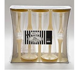 Šampanjapokaalid, kreemjad (10 tk)