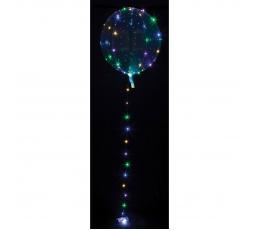 Särav õhupall-clearz värviliste LED lambikestega