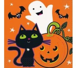 """Salvrätikud """"Halloweeni sõbrad"""" (16 tk)"""