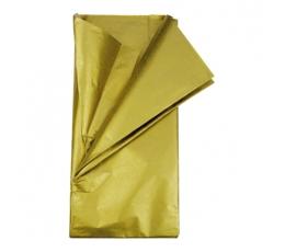 Siidipaber, kuldne (5tk./50x70cm)