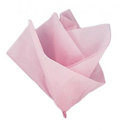Siidipaber, roosa (10 tk / 50x66 cm)