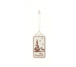 """Sildid-dekoratsioon """"Merry Christmas"""" (6tk)"""