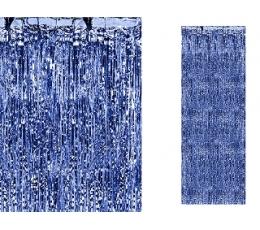 Sinine fooliumkardin (90 x 250 cm)