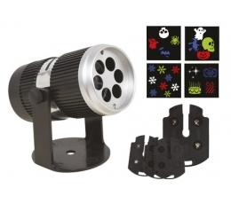 Sise-LED-projektor (4 disainfiltriga)
