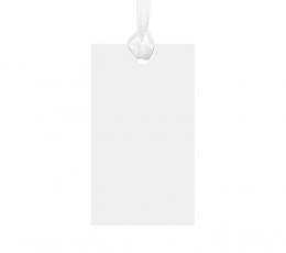 Soovidekaardi - etidketid, valged (10 tk)) 0