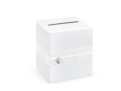 """Soovide kast """"Valged kudumid"""" (24x24x24 cm)"""