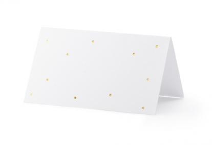 """Laua-nimekaardid """"Kuldsed täpid"""" (10 tk"""