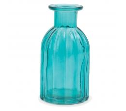 Klaaspudel - vaas, helesinine (13,5 cm)