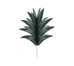 """Suupistetikud - dekoratsioonid """"Ananassilehed"""" (6 tk)"""