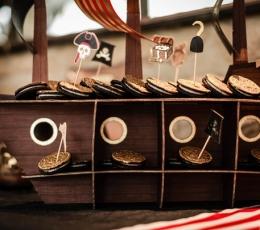 """Suupistetikud-dekoratsioonid """"Piraadid"""" (10 tk) 1"""