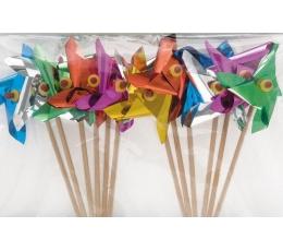 """Suupistetikud-dekoratsioonid """"Tuuleveskid """"  (12 tk)"""