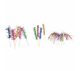 Suupistetikud, fooliumist värvilised (10 tk)