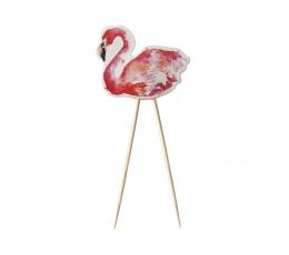 """Suupistetikud-kaunistused  """"Flamingod"""" (8 tk)"""