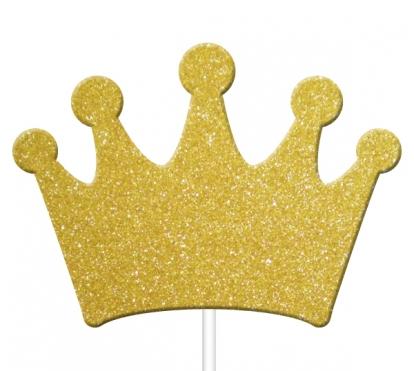 """Suupistetikud-kaunistused  """"Kuldsed kroonid"""" (12 tk)"""
