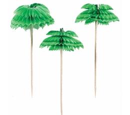 """Suupistetikud-kaunistused """"Palmid"""" (12 tk./7 cm)"""