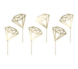 """Suupistetikud """"Kuldne teemant"""" (6 tk)"""