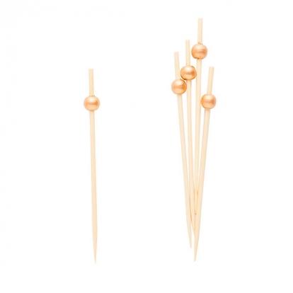 Suupistetikud kuldsed pärlid (25 tk)
