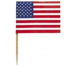 """Suupistetikud-lipud """"Ameerika"""" (30 tk.)"""