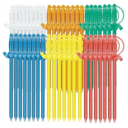 Suupistetikud-mõõgad  (50 tk.)
