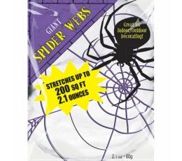 Suur ämblikuvõrk, valge (60 g)