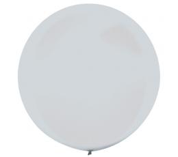Suur õhupall, pärlmutter, hõbedane (61 cm)