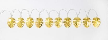"""Laua LED tulede vanik """"Kuldsed palmid"""" (2 m)"""