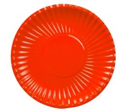 Taldrikud-alused, punased (8 tk / 29 cm)