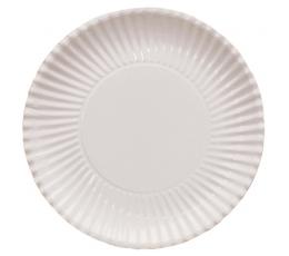 Taldrikud-alused valged (8 tk / 29 cm)