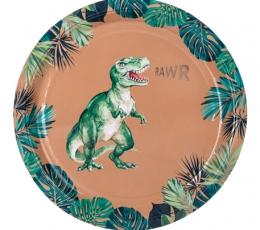 """Taldrikud """"Dinosaurused džunglis"""" (8 tk./23 cm) 1"""
