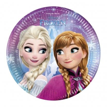 """Taldrikud """"Frozen"""" (8 tk./20 cm)"""