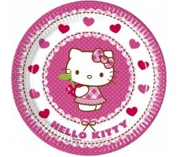 "Taldrikud ""Hello Kitty"" (8 tk./20 cm)"