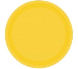 Taldrikud, kollased (8 tk / 17 cm)