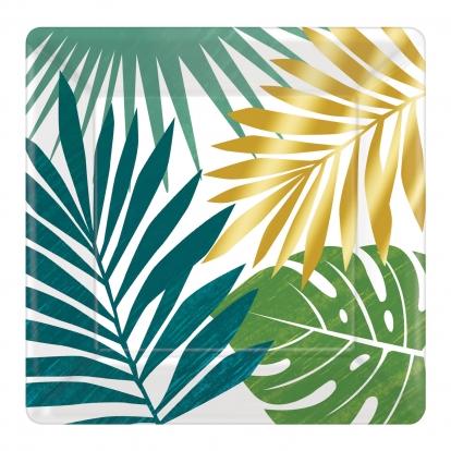 "Taldrikud ""Kuldne palm"" (8 tk./17 cm)"